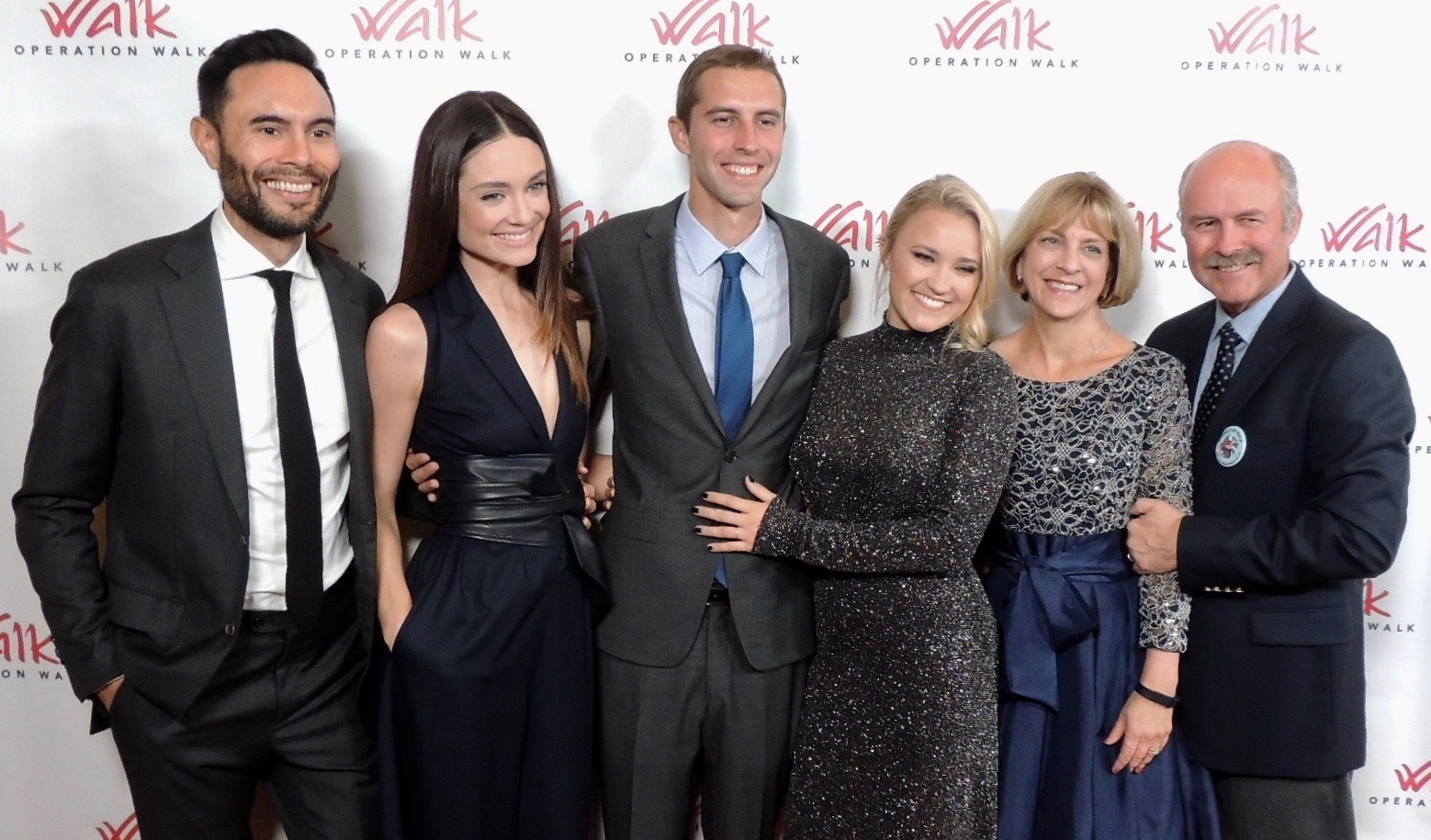 Gilbert Family with Emily Osment and Mallory Jansen